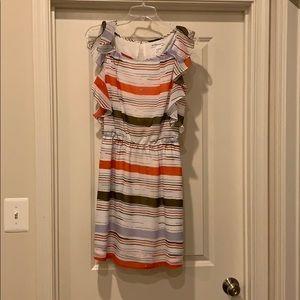BCBGeneration patterned sun dress